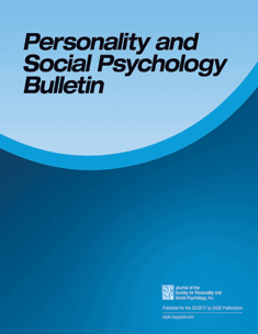 Personality and Social Psychology Bulletin cover