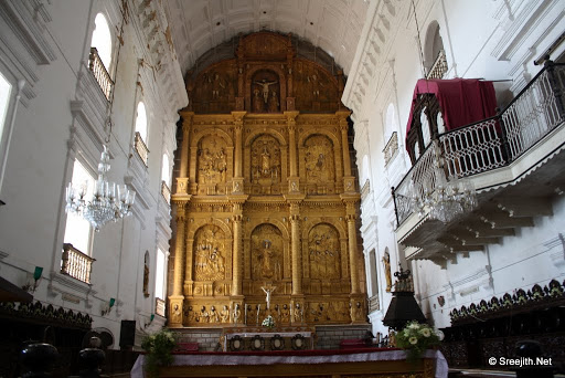 The Convent of St Francis Of Assisi Cathedral & Basilica of Bom Jesus
