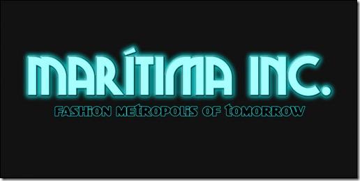 Maritima Logo - Long (Neon)
