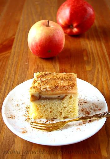 шарлотка из риса с яблоками рецепт