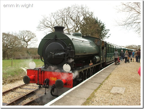 Isle of Wight Steam Railway 23
