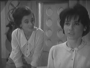 Jacqueline Hill is Barbara Wright and Carole Ann Ford is Susan Foreman