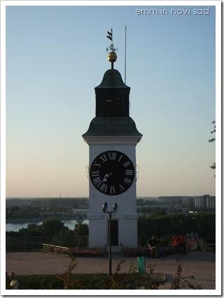 Petrovaradin Fortress clock, Novi Sad