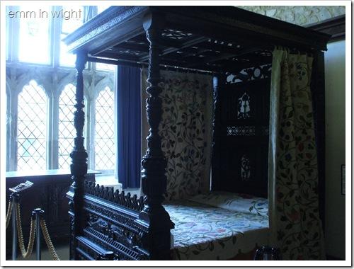 Carisbrooke Castle - Charles I's bedroom