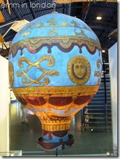Montgolfier balloon, 4th June, 1783