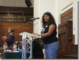 Chitra Nagarajan - Feminism in London 2010