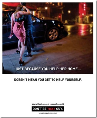 SAVE campaign Don't Be That Guy help-her-home