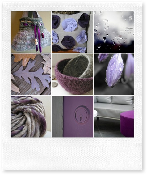 Purple & Grey