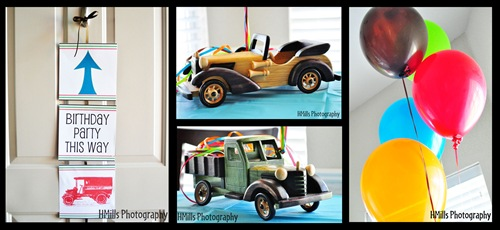A Scrappy Design Vintage Car Party