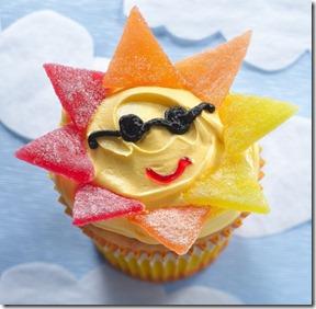 cute-food-sun-cupcake