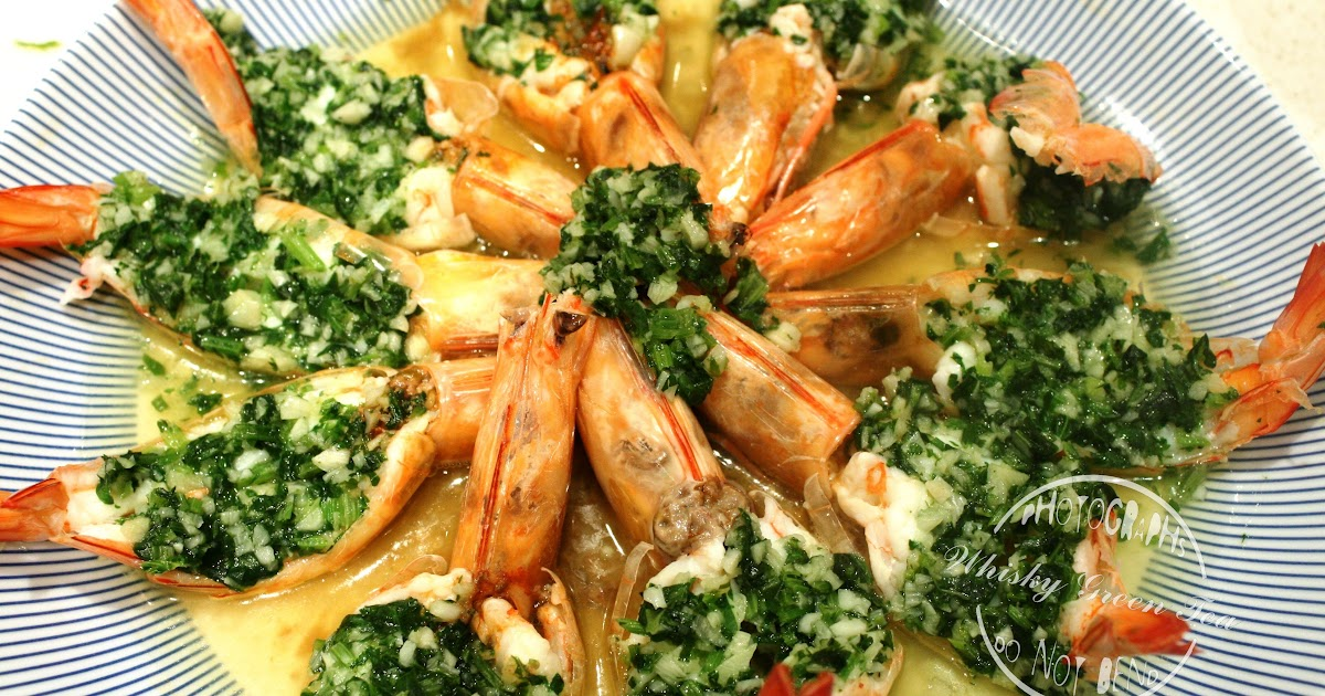 how to cook green prawns