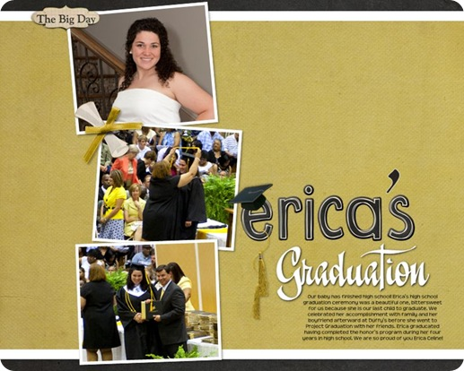 Erica's Graduation