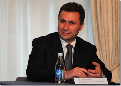 Macedonia PM