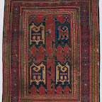 When this rug was discovered, its unusual field designrows of animals within animalswas otherwise known only in a rug depicted in a Sienese painting of about 1410, The Marriage of the Virgin by Gregorio di Cecco di Luca (National Gallery, London). The pattern of the painted version, partially obscured by standing figures, was not comprehensible without the Metropolitan's rug. The field design probably derives from medieval textiles patterned with single or paired animals in compartments. This purchase, hailed in rug-collecting circles, brought to the Museum one of the best preserved, earliest Turkish carpets in the world. Only two other carpets of a similar date are known.