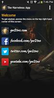 Screenshot of The Nameless App