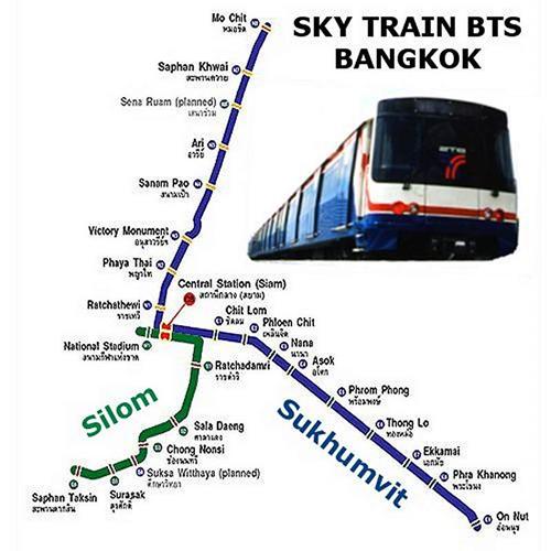 مترو الأنفاق فى تايلاند 2013 _ المواصلات والسياحة فى تايلاند
