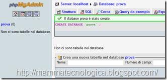 il database