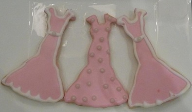 sugar cookie- pink dresses