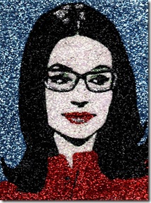 Nana Mouskouri (on blue)