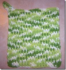 cotton cloth green