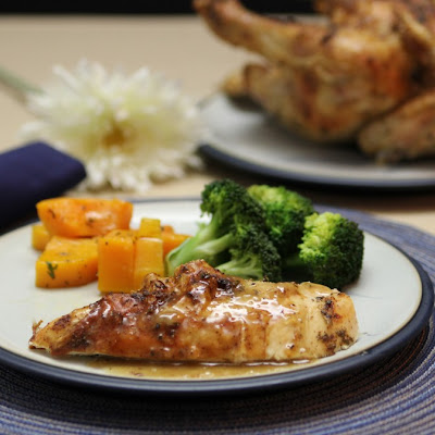 Mustard and Rosemary Roasted Chicken (21DSD-friendly!)