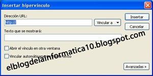 Insertar hipervínculos con Windows Live Writer