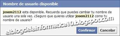 personalizar direccion URL en Facebook