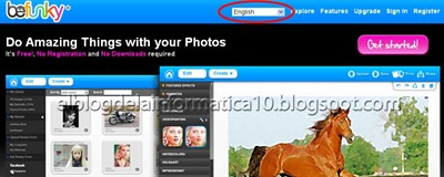 Befunky editor de fotos online