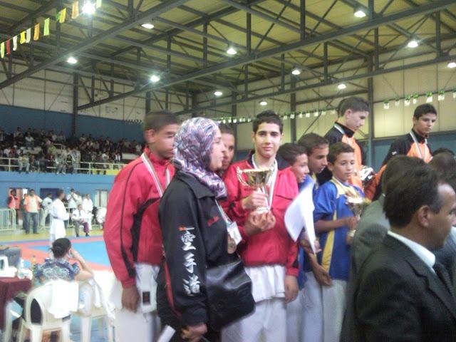 فريق الإنتصار أشبال يتحصل على المرتبة الثالثة في كأس الجزائر للكراتي دو SNC00180