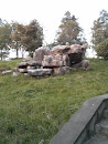 废弃的碉堡