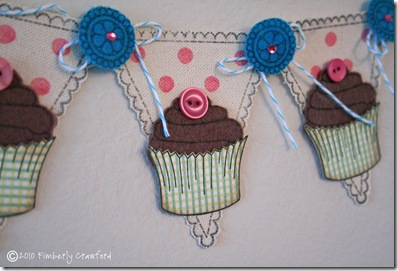 Canvas Cupcake Banner CU