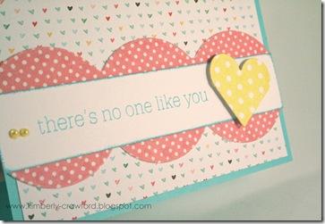 no one like you CU
