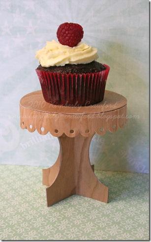 Cupcake Stand and Cupcake