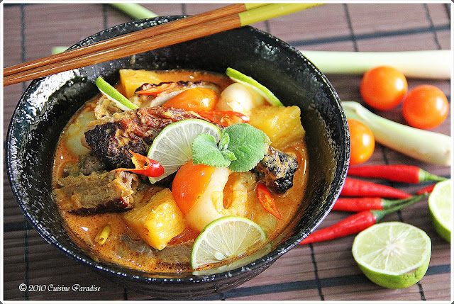 ... Singapore Food Blog | Recipes, Reviews And Travel: Thai Red Duck Curry