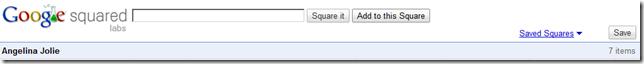 google squared save
