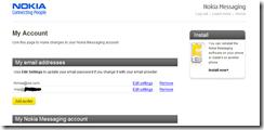 nokia Messaging Push Mail