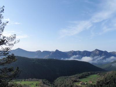 Serra del Picancel, al sud