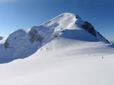 Mont Blanc, vist des del coll del Dôme de Goûter