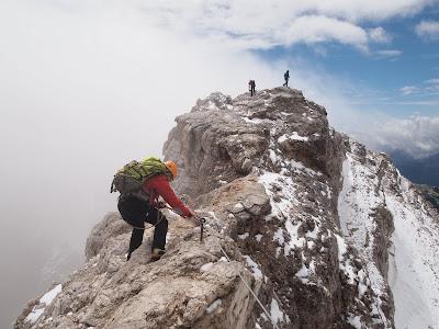 Cresta fins al cim