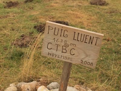 Cim del Puig Lluent