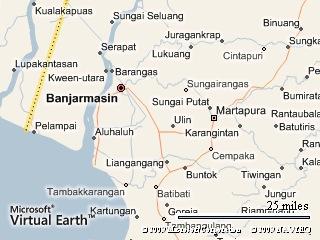 Peta Banjarmasin, Banjar dan Banjarbaru