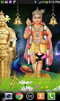 Screenshot of Swami Murugan Live Wallpaper