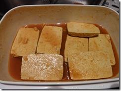 Tofu mariniert