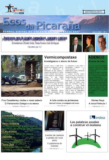 Ecos da Picaraña nº 2. Abril de 2009. 3º Premio de Galicia