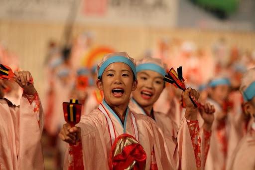 本祭1日目 高知城演舞場 4   D-11935