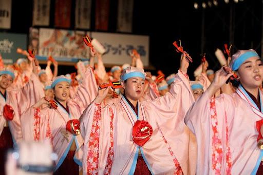 本祭1日目 高知城演舞場 13   D-11970