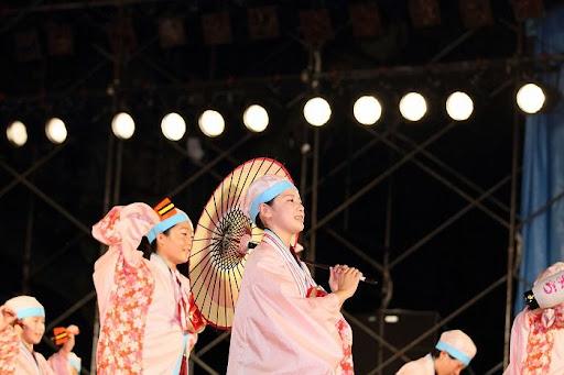 本祭1日目 高知城演舞場 23   D-11995