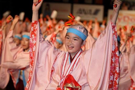 本祭1日目 高知城演舞場 29   D-12005