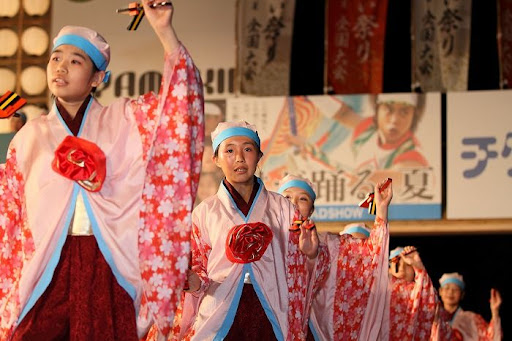 本祭1日目 高知城演舞場 46   D-12052