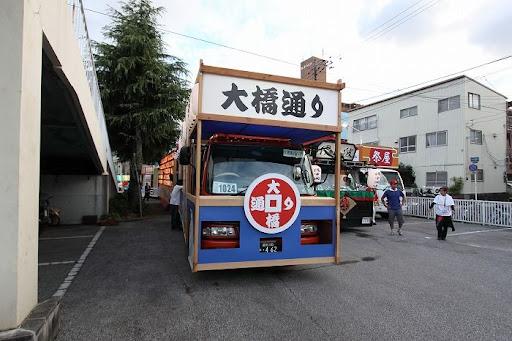 本祭1日目 地方車集合 8        D-13006